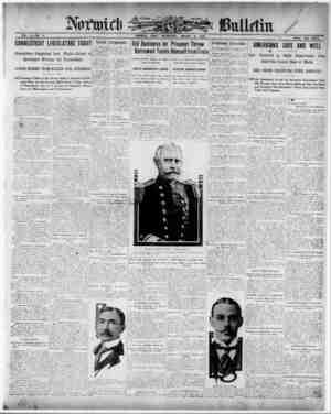 Norwich Bulletin Gazetesi 6 Ocak 1909 kapağı