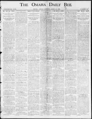 THE OMAHA-DAILY - BEE. LiK 5ft NINETEENTH YEAR. OMAHA , F.HIDAY HORNING , APBIL 18 , 1890. NUMBER 2 < ) * . THE LAKE CITY...