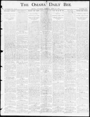 THE OMAHA' ' DAILY BEE. VFSAll , OMAHA , SATTKDAY MCflil NG , APRIL , ID. 1800. NtBIBIOK 12P. ! ) \ | uSTIMIS' \ | \ ASS...