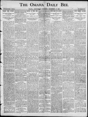 r THE OMAHA 'DAILY ' BEE. I < TWENTIETH. YEAK. OMAHA , WEDNESDAY MORNING. PEOEMBEB 17 , 1890. NUMBEE 182. FIGHTING IRISH...