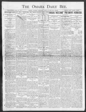 Daily B ESTABLISHED JUNE 10, 1871. OMAHA, TUESDAY MORNING APRIL 28, 1903 TEN PAGES. SINGLE COPY THREE CENTS. I RUSSIA MAKES