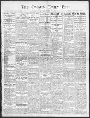 The Omaha Daily Bee. ESTABLISHED JUKE 19, 1871. OMAHA, TUESDAY MOUSING, JUNE 2, 1903-TEN PAGES. SINGLE COPY THREE CENTS. S