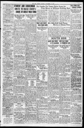 THL BEE: OMAHA, MONDAY, NOV EM BEK 12, m7. FARM AND RANCH LANDS Nebraska Lands. i'OR 6ALE 1.126-aere ranch. Improved, SO...