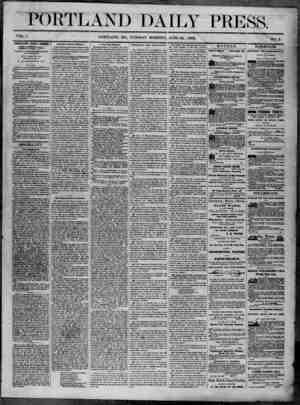 Portland Daily Press Gazetesi 24 Haziran 1862 kapağı