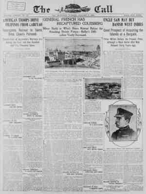 The San Francisco Call Gazetesi 2 Ocak 1900 kapağı