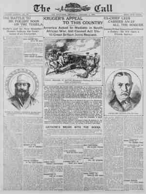 The San Francisco Call Gazetesi 4 Ocak 1900 kapağı