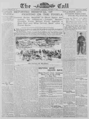 The San Francisco Call Gazetesi 6 Ocak 1900 kapağı