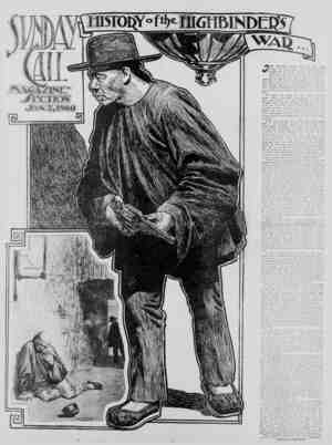 The San Francisco Call Gazetesi 7 Ocak 1900 kapağı