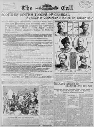 The San Francisco Call Gazetesi 8 Ocak 1900 kapağı