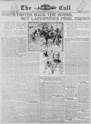 The San Francisco Call Gazetesi 9 Ocak 1900 kapağı