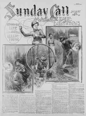 The San Francisco Call Gazetesi 14 Ocak 1900 kapağı