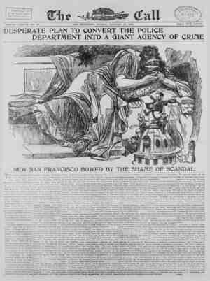The San Francisco Call Gazetesi 15 Ocak 1900 kapağı