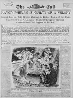 The San Francisco Call Gazetesi 16 Ocak 1900 kapağı