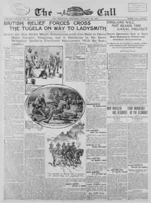 The San Francisco Call Gazetesi 18 Ocak 1900 kapağı
