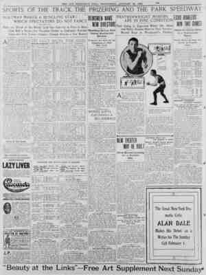 CLEVER BOXER WHO WILL MEET EDDIE HANLON TO MORROW NIGHT. A meeting was held yesterday of deal ers interested ; in the...
