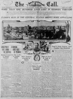SAjS TUESDAY, JTUI^E 2, 1903. TOLU3IE XCIV-NO. £ FLOOD'S RUIN IN THE CENTRAL STATES GROWS MORE APPLAING Jtfi ORB iJiaii :dnc