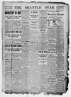 Seattle Star Gazetesi 1 Mart 1899 kapağı