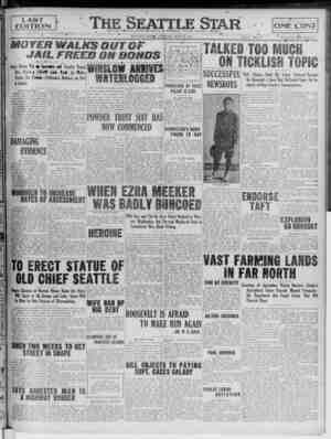 "F- LAST L EDITION I ******.—— __""*_. •— MOVER WALKS OUTOF JAIL FREED ON BONDS Boise Unions Put «* (kanuiet v>i Timothy Regan,"