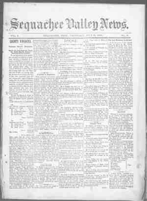 Sequachee Valley News Gazetesi 16 Temmuz 1896 kapağı