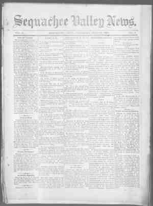 Sequachee Valley News Gazetesi 23 Temmuz 1896 kapağı