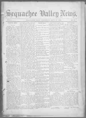 Sequachee Valley News Gazetesi 17 Eylül 1896 kapağı