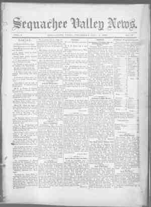 Sequachee Valley News Gazetesi 1 Ekim 1896 kapağı
