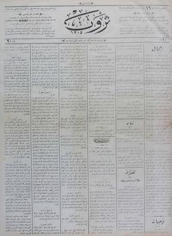 Servet Gazetesi 15 Aralık 1890 kapağı