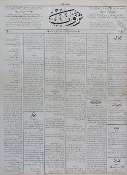 Servet Gazetesi 16 Aralık 1890 kapağı