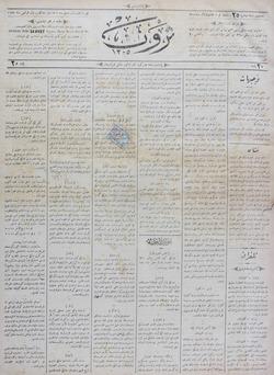 Servet Gazetesi 22 Aralık 1890 kapağı