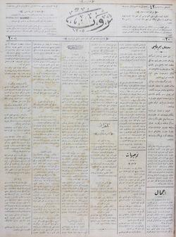 Servet Gazetesi 10 Ocak 1891 kapağı