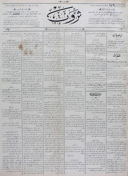 Servet Gazetesi 29 Temmuz 1891 kapağı