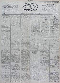 Servet Gazetesi 30 Temmuz 1891 kapağı