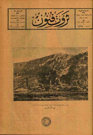 Servet-i Fünun sayfa 1