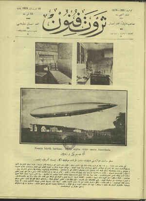 Servet-i Fünun Dergisi 18 Ekim 1928 kapağı
