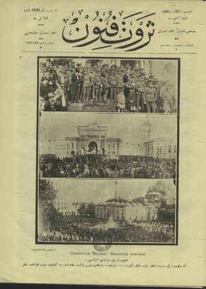 Servet-i Fünun Dergisi 1 Kasım 1928 kapağı