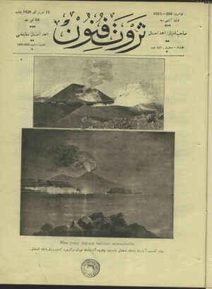 Servet-i Fünun Dergisi 15 Kasım 1928 kapağı