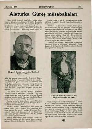 No'1885—200 SERVETİFÜNUN 217 Alaturka Güreş müsabakaları Himayeietfal Cemiyeti tarafından tertip edilen alaturka güreş...