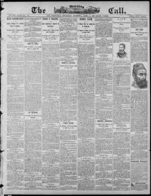 The Morning Call (San Francisco) Gazetesi 3 Nisan 1890 kapağı