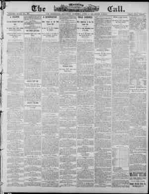 The Morning Call (San Francisco) Gazetesi 5 Nisan 1890 kapağı