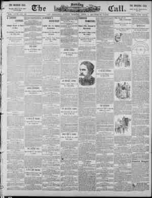 The Morning Call (San Francisco) Gazetesi 6 Nisan 1890 kapağı