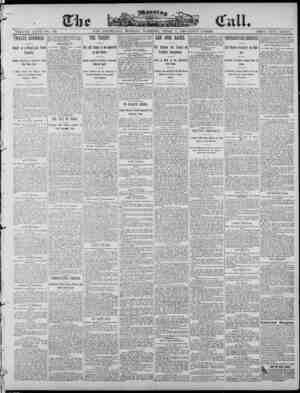 The Morning Call (San Francisco) Gazetesi April 7, 1890 kapağı