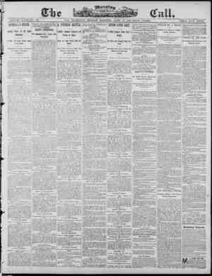 The Morning Call (San Francisco) Gazetesi 14 Nisan 1890 kapağı