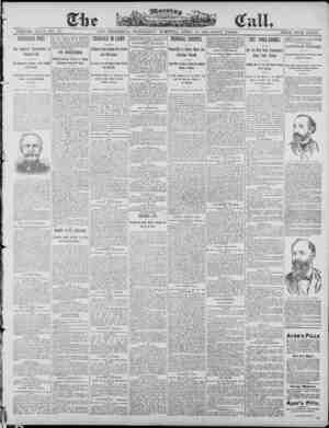 The Morning Call (San Francisco) Gazetesi 16 Nisan 1890 kapağı