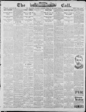The Morning Call (San Francisco) Gazetesi 22 Nisan 1890 kapağı