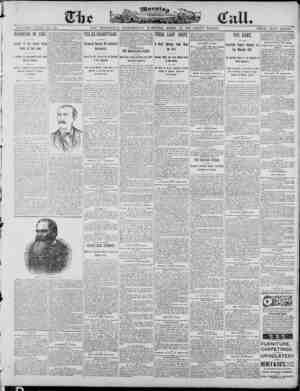 The Morning Call (San Francisco) Gazetesi 23 Nisan 1890 kapağı