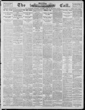 The Morning Call (San Francisco) Gazetesi 26 Nisan 1890 kapağı