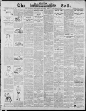 The Morning Call (San Francisco) Gazetesi 30 Nisan 1890 kapağı