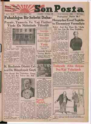 —ş———x np in ball nekadar — Noi zı işleri telefonu: İstanbul — 20203 Sene ! ÇARŞAMBA — 22 Pahalılığın Bir Sebebi Daha:...