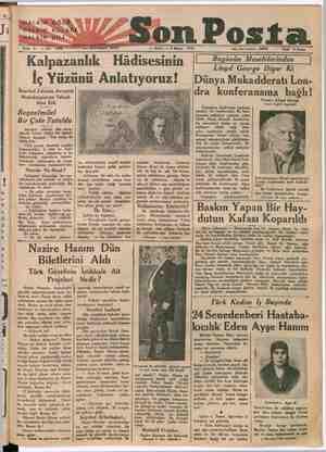 """wwe o 3 913) — a"""" Sİ Kalpazanlık İ Hâdisesinin İç Yüzünü Anlatıyoruz! İstanbul Zabıtası Avrupalı     Meslektaşiarına Tekad-"""