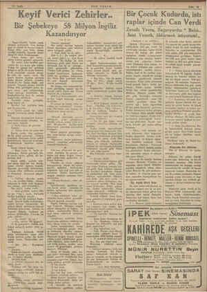 — G rr v Keif Verici Zehiileiğ. Bir Şebekeye 58 Milyon İngiliz Tango bitmişti. Işıklar yandı, Ortalık aydınlandı. Caz,...